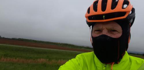 Har syklet i bedre vær.
