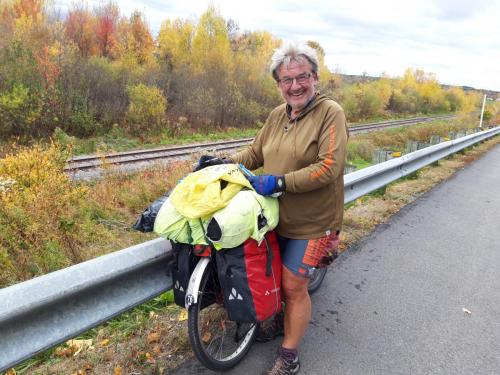 Enda en tulling som sykler Canada på tvers